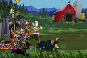 Legendary Wars - Battle vs. Bully and the Mad Cows
