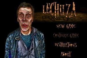 Lechuza point and click game title