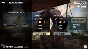 Infinity Blade III (3) Blacksmith Forging Guide | AppUnwrapper