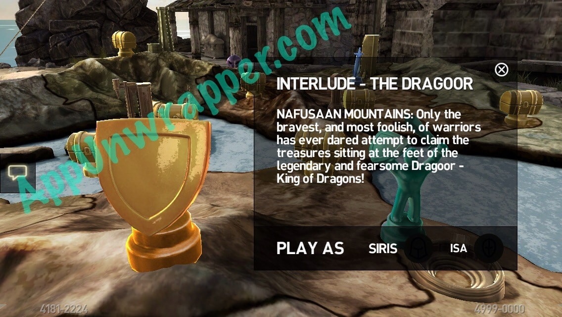 Infinity Blade III (3): Kingdom Come Dragoor Guide