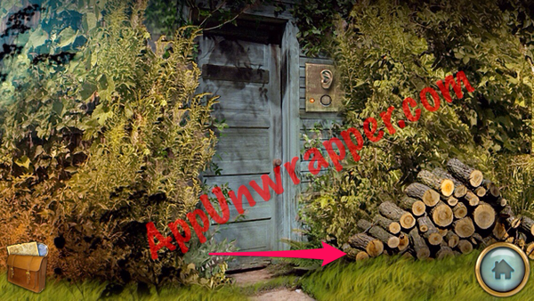Use the tuning fork on the ear by the speaker by the door to go inside the shed. Pick up the carved falcon statue and the wooden mallet. & The Secret of Grisly Manor: Walkthrough | Page 2 | App Unwrapper