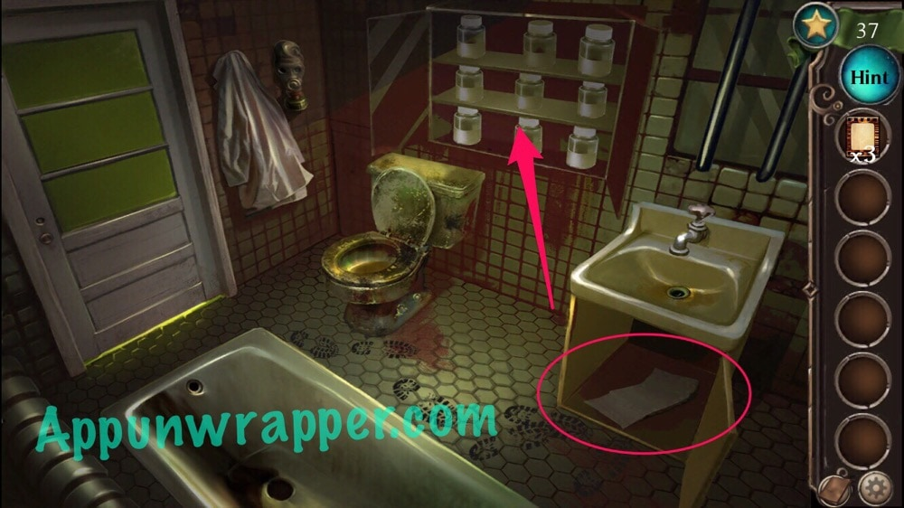 Escape The Bathroom Level 4 adventure escape: asylum (murder mystery room, doors, and floors