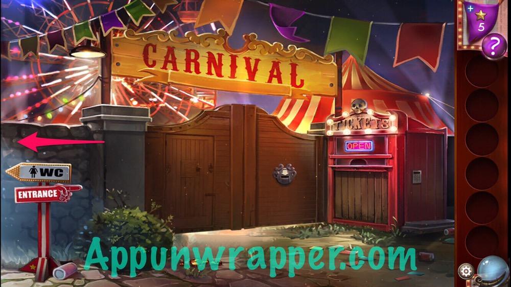 Escape Bathroom Level 3 adventure escape midnight carnival: walkthrough guide | app unwrapper