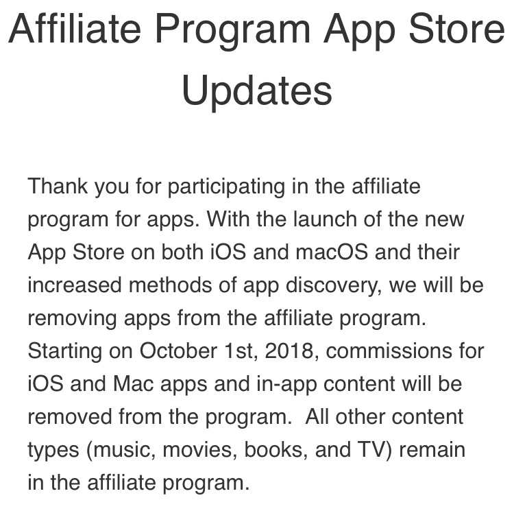 Apple Just Announced the End of Their Referral Program for Apps and Games