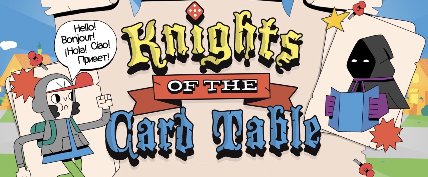 'Knights of the Card Table' Review: Slice 'n' Dice