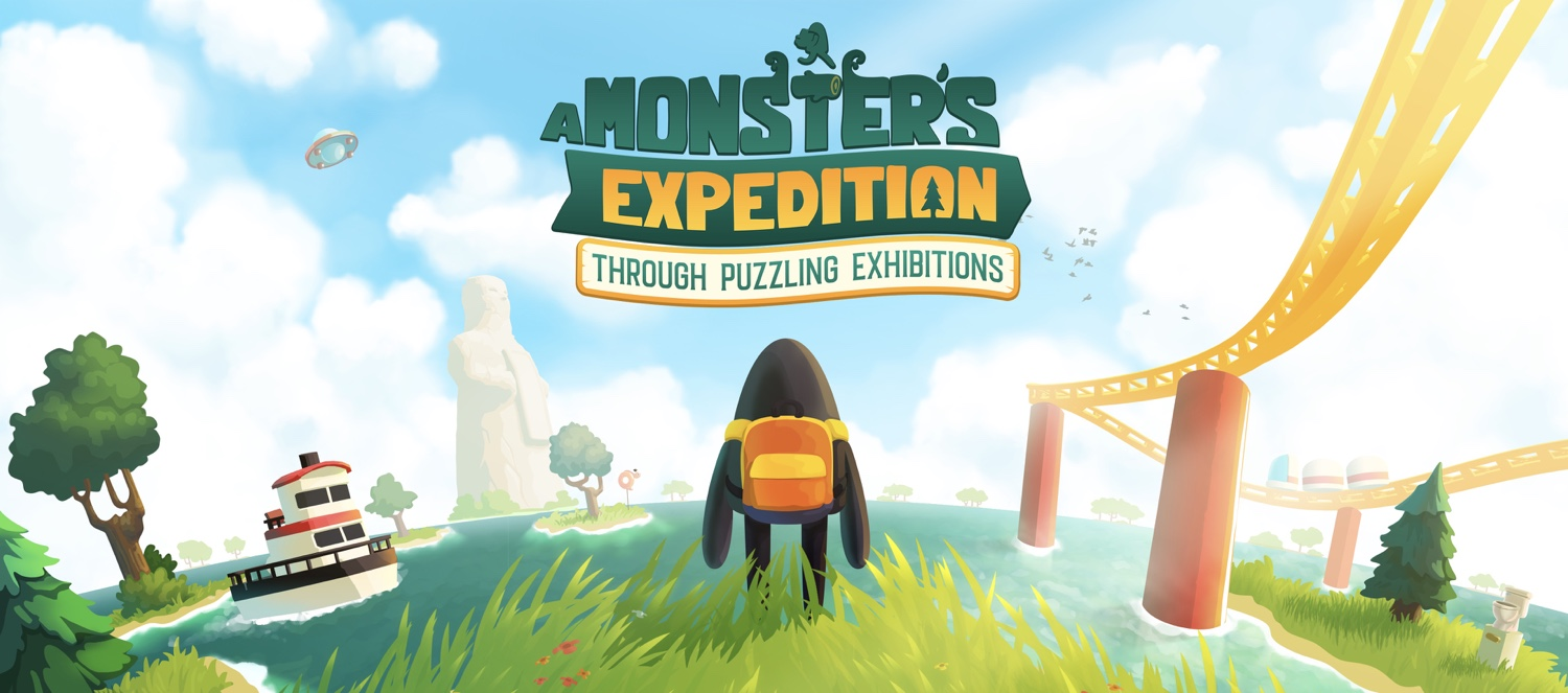 'A Monster's Expedition' Releasing September 10th on Steam and Apple Arcade (Preview Inside)