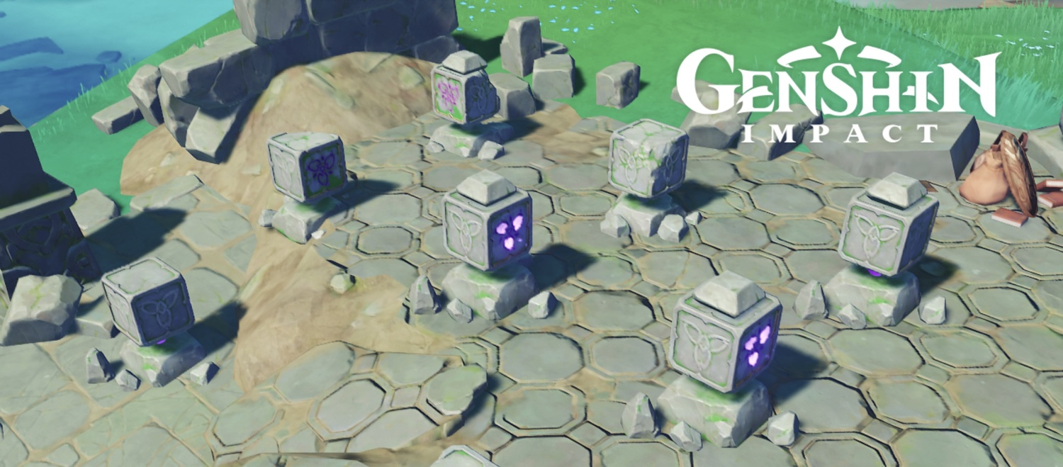 Read more about the article Genshin Impact: How to Solve the 8-Cube Puzzles on Watatsumi Island